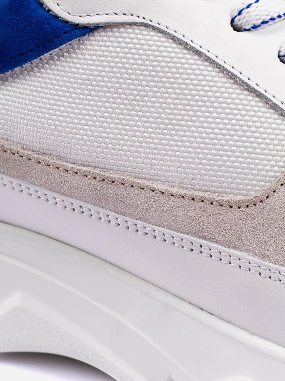 Blue Detail Sneakers