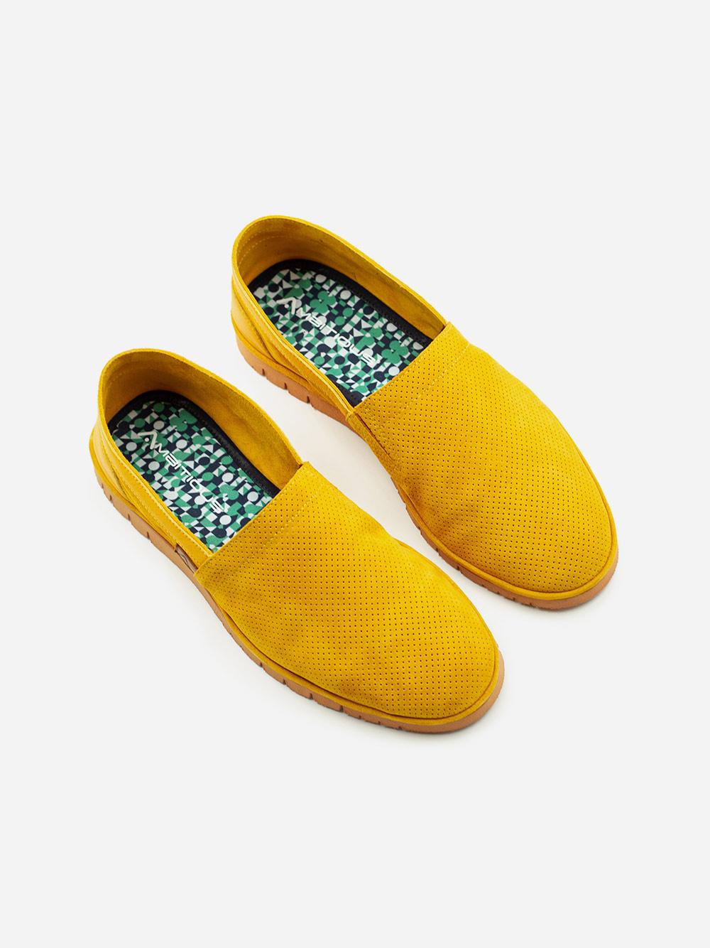 Yellow Slip ons