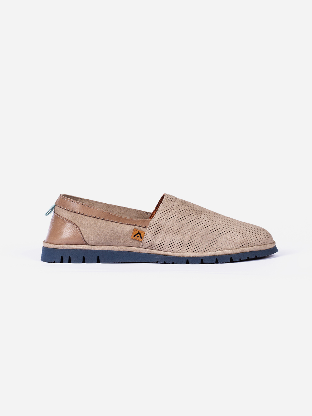 Taupe Slip ons