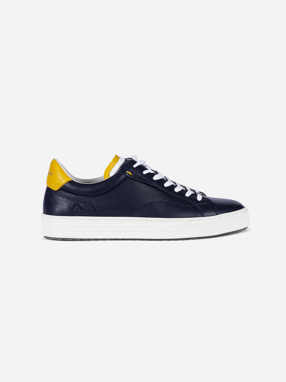 Blue and Yellow Sneakers