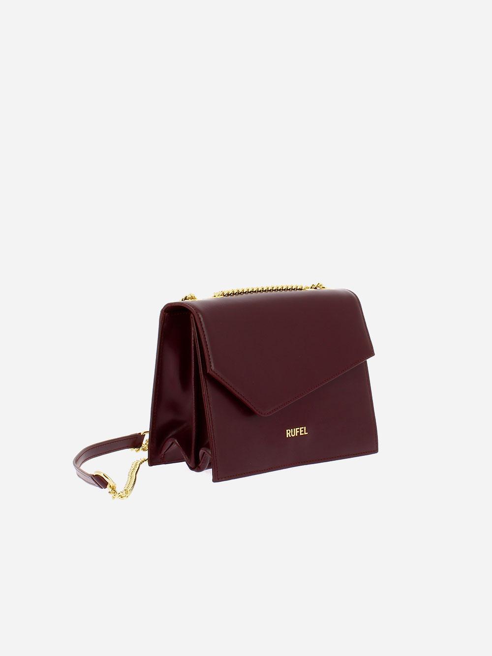 Soave Burgundy Crossbody Bag