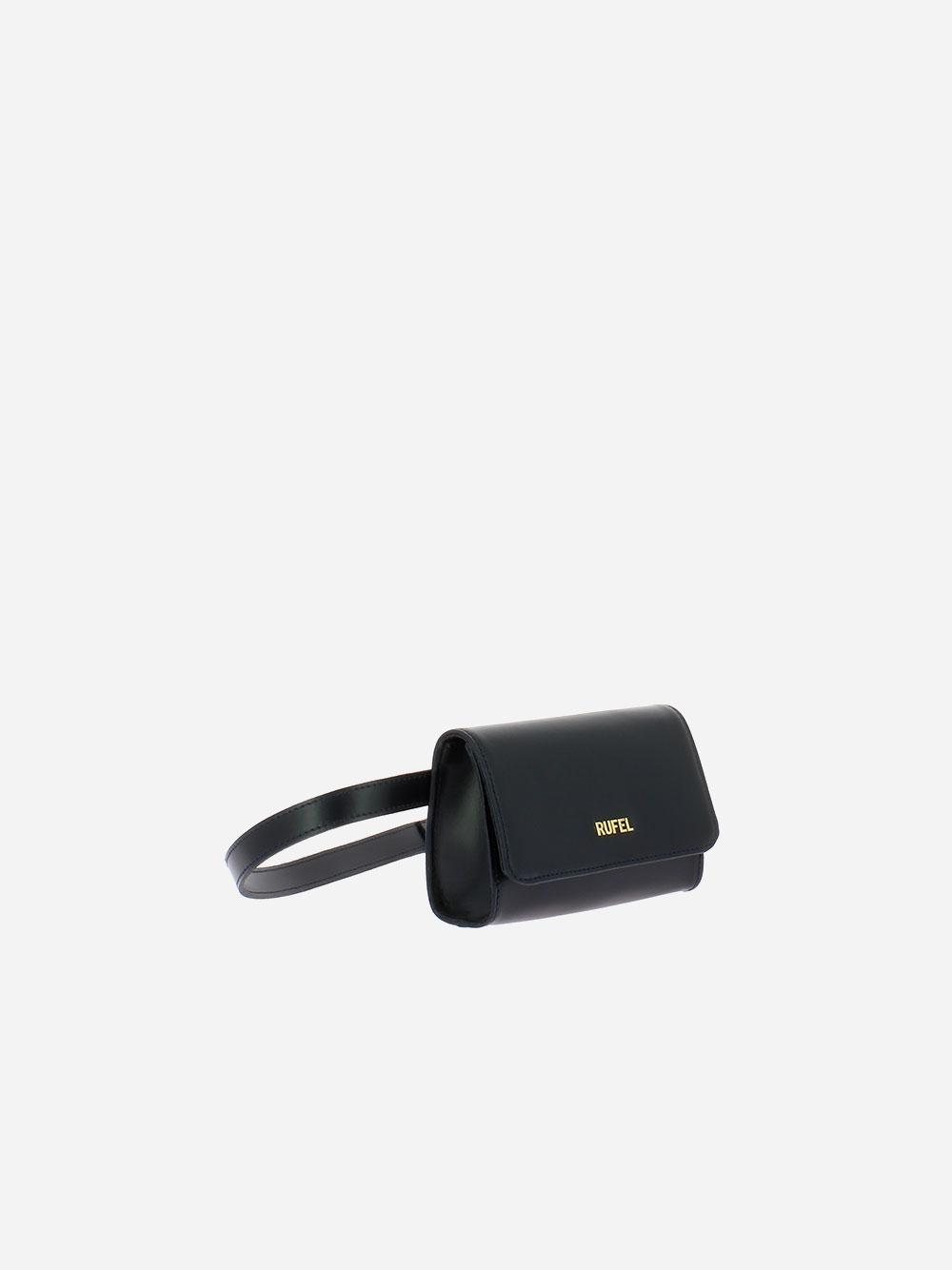 Soave Black Belt Bag