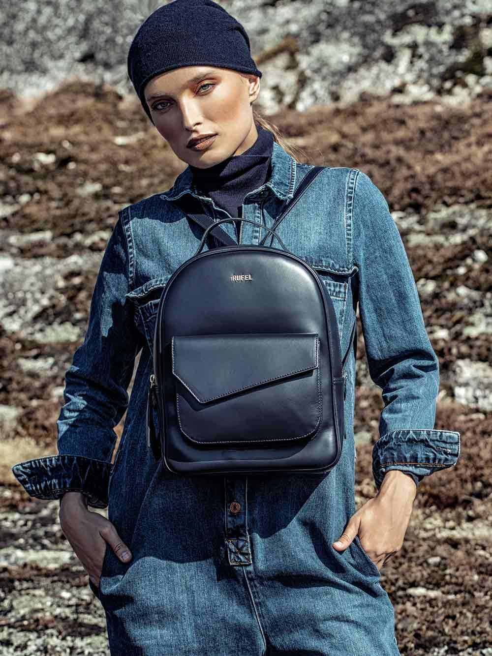 Soave Black Backpack