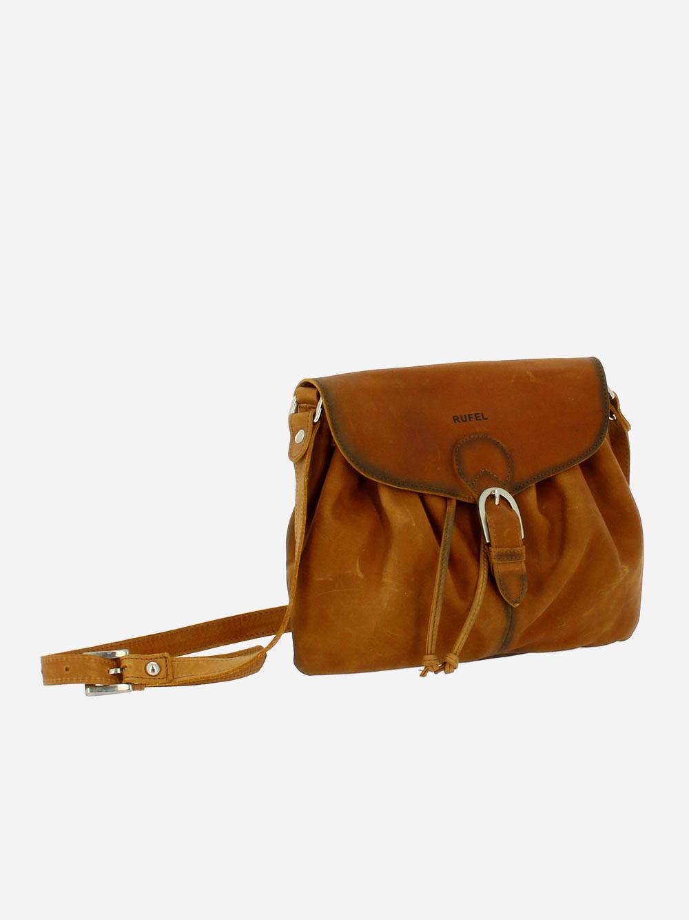 Star Camel Crossbody Bag