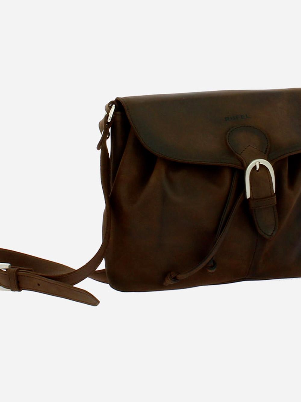 Star Brown Crossbody Bag