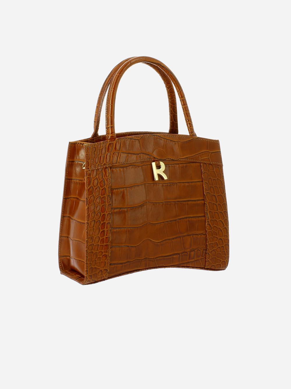 Croco Guilly Shopper Bag