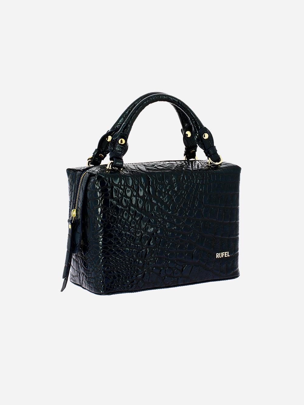 Croco Wild Blue Handbag