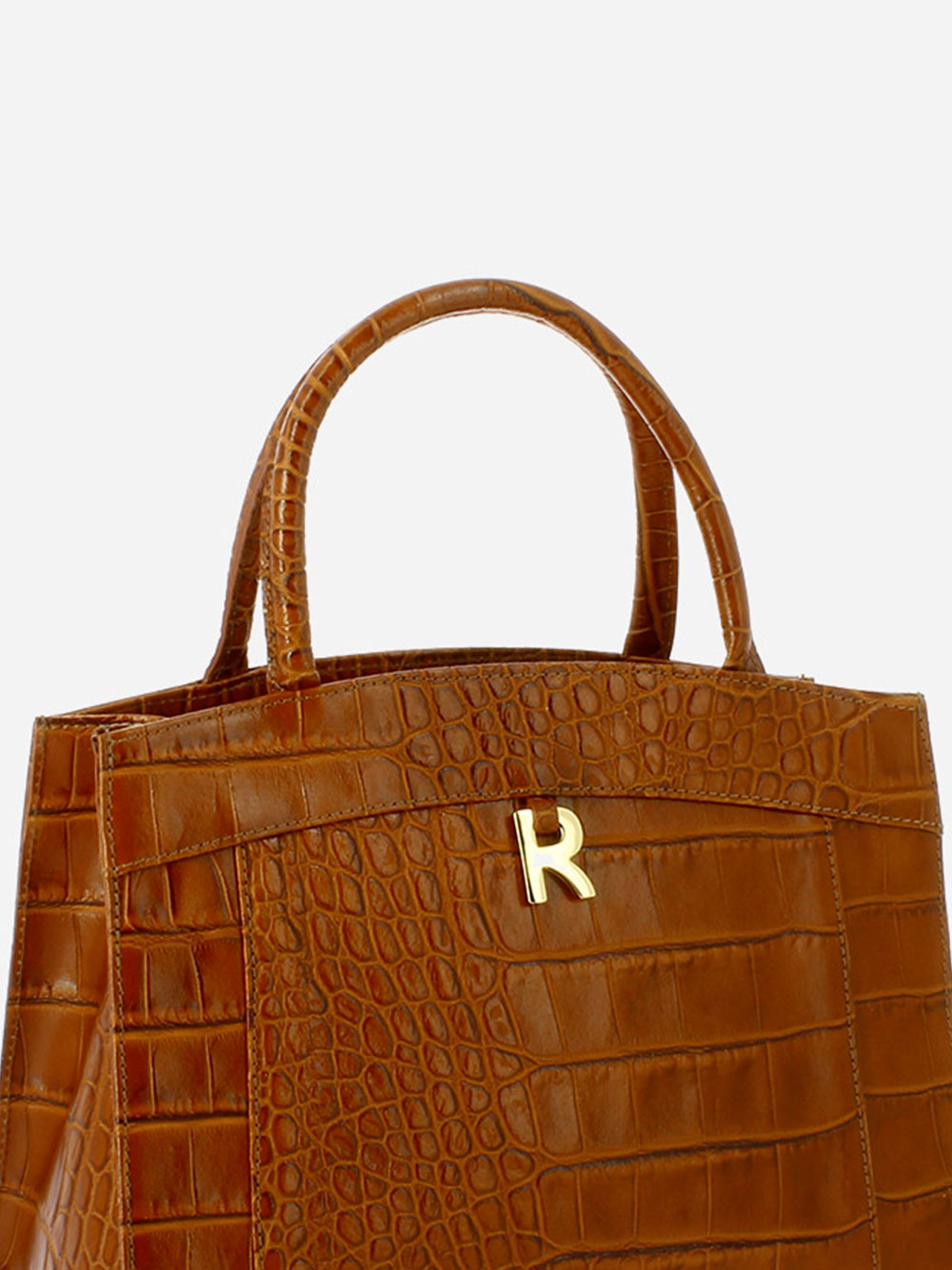 Croco Guilly Shopper Bag