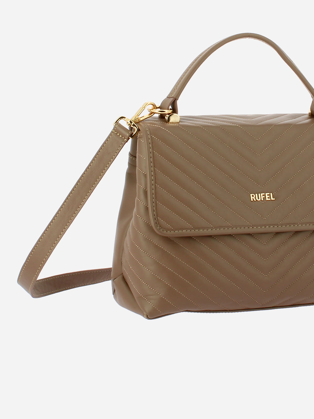 Nature CH Taupe Crossbody Bag