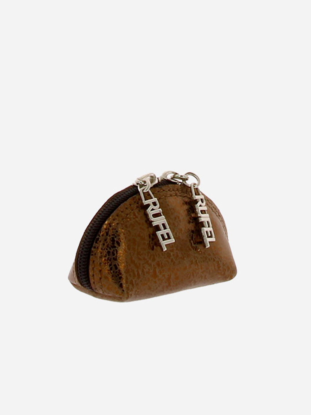 Small Round Toiletry Bag Bronze