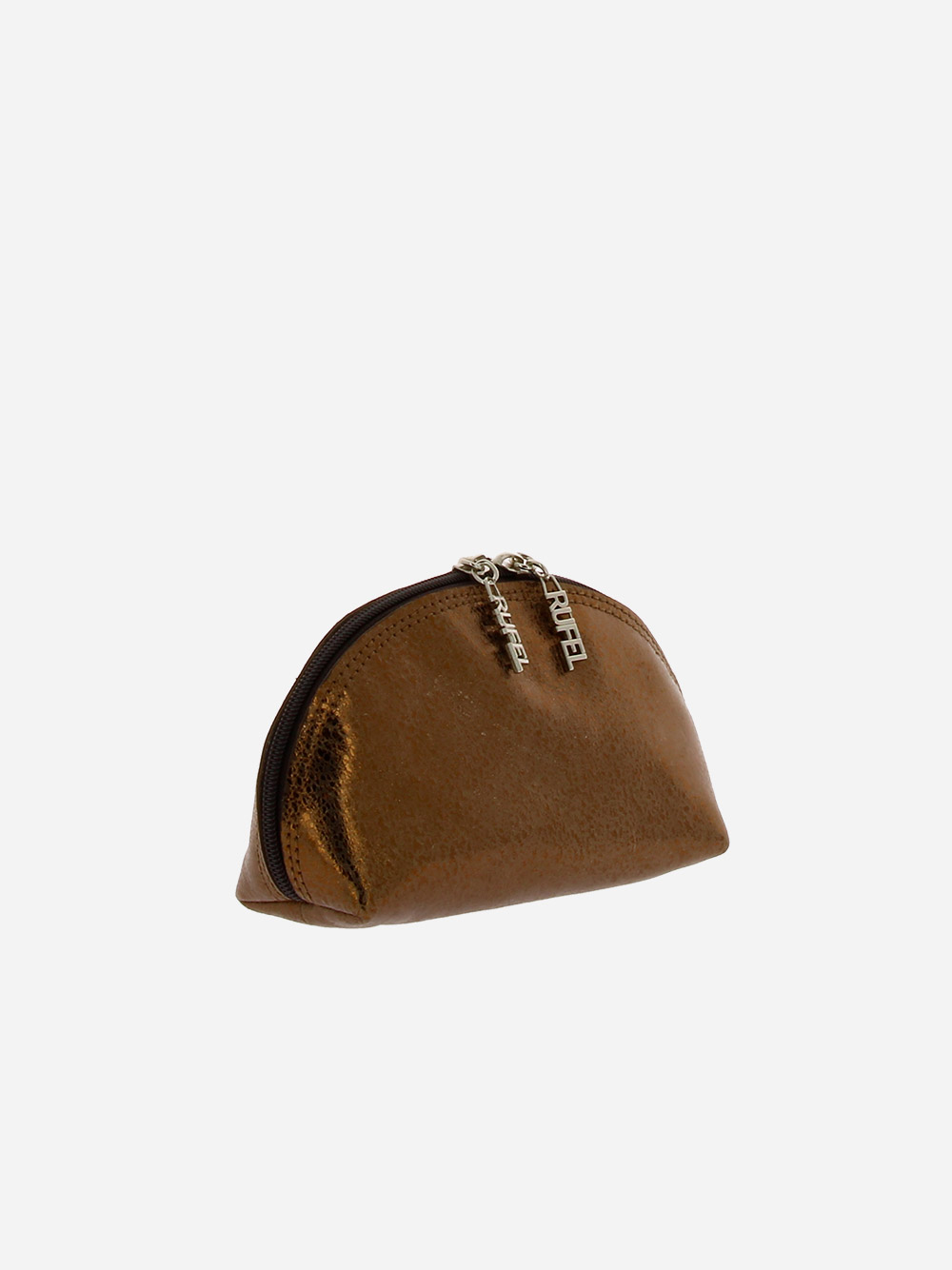 Big Round Toiletry Bag Bronze