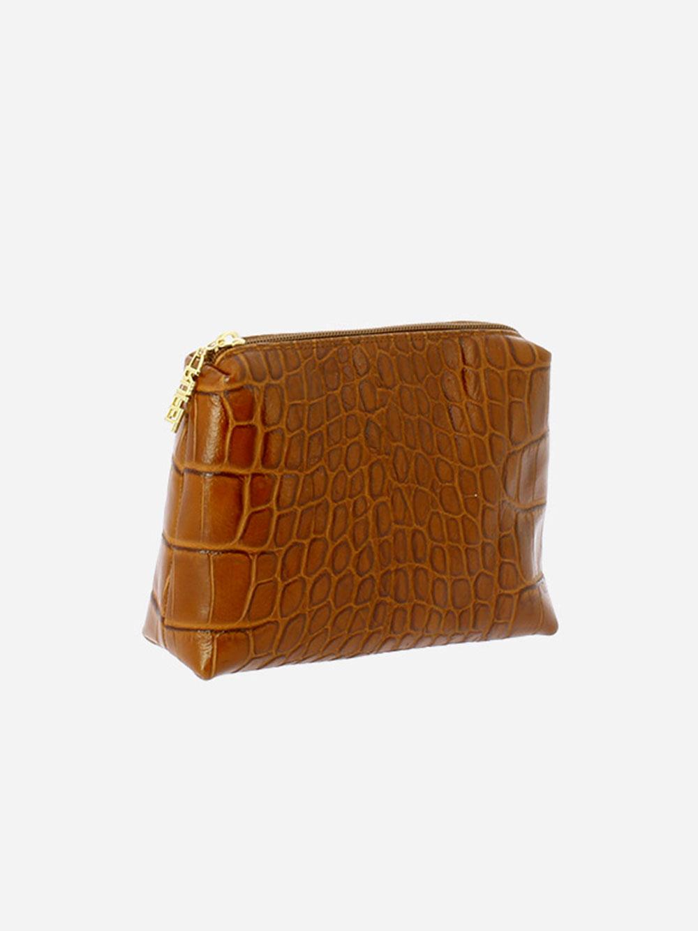 Medium Toiletry Bag Croco Guilly