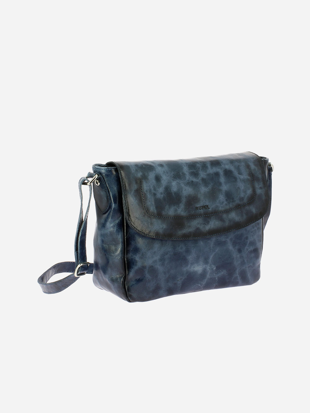 Blue Vega Crossbody Bag