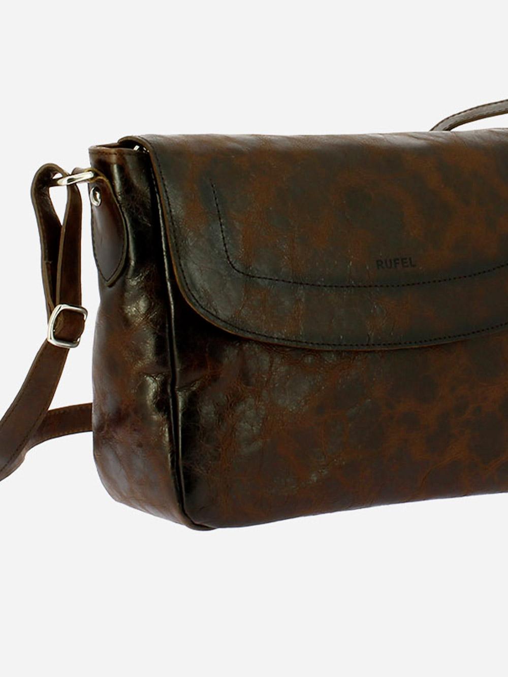 Brown Vega Crossbody Bag