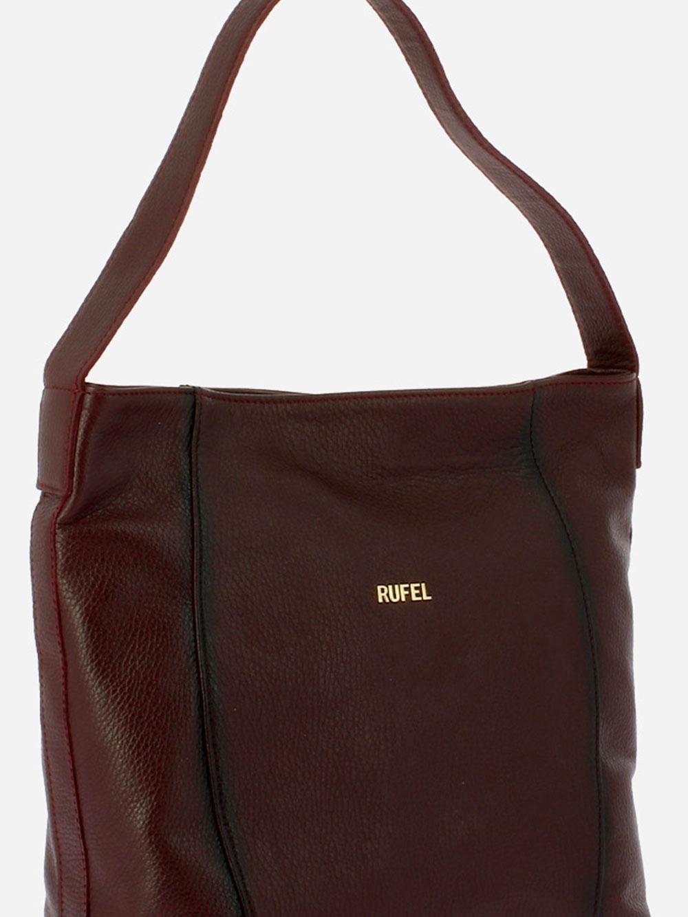 Burgundy Alce Shoulder Bag