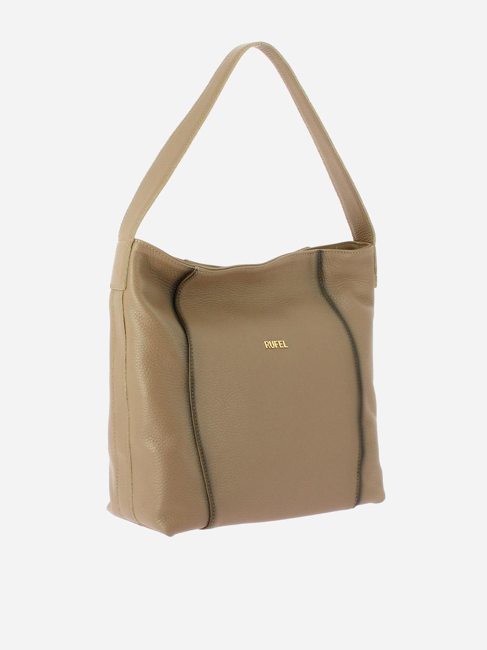 Taupe Alce Shoulder Bag