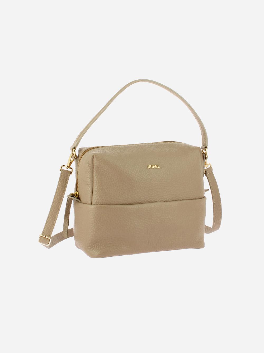 Taupe Boost Crossbody Bag