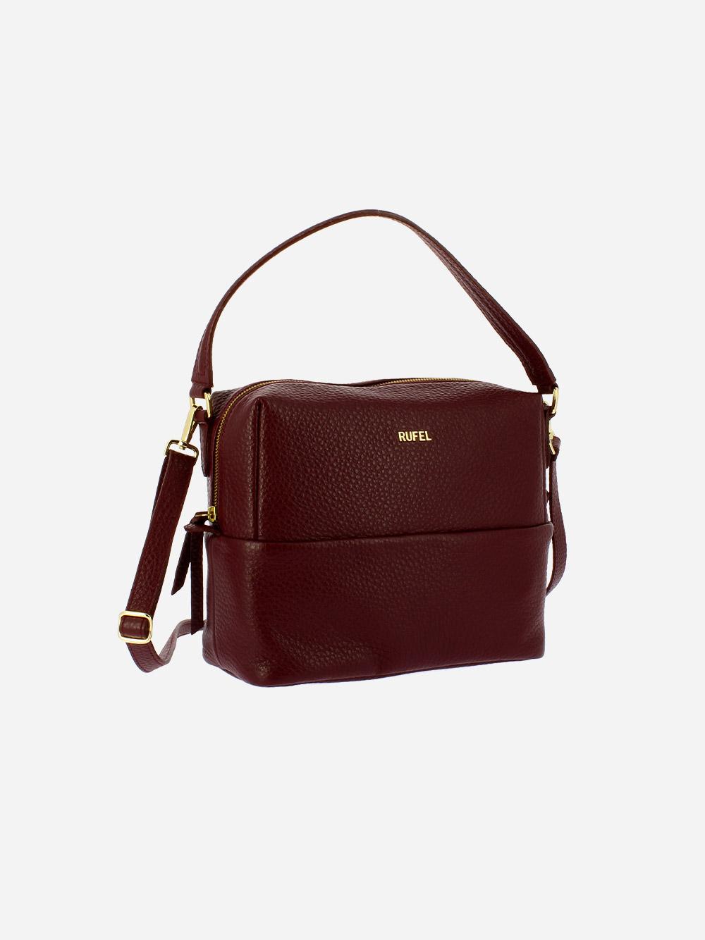 Burgundy Boost Crossbody Bag