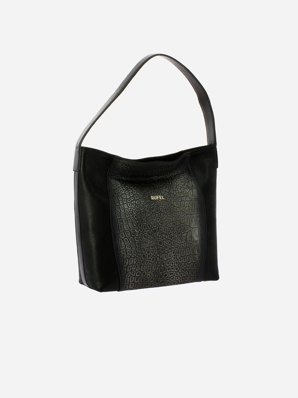 Black Rustic Shoulder Bag