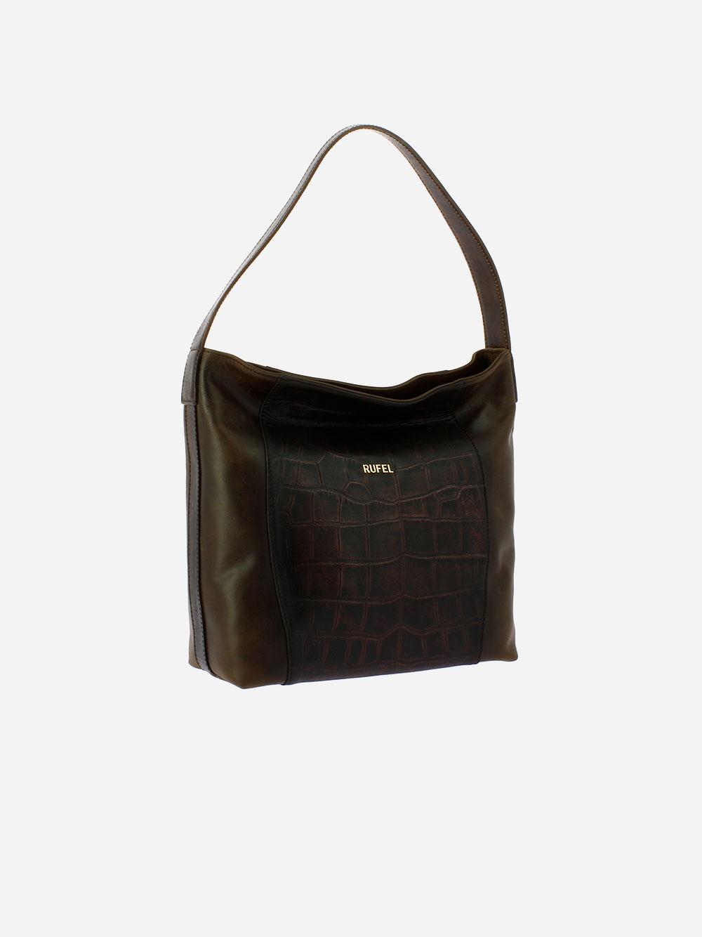 Brown Rustic Shoulder Bag
