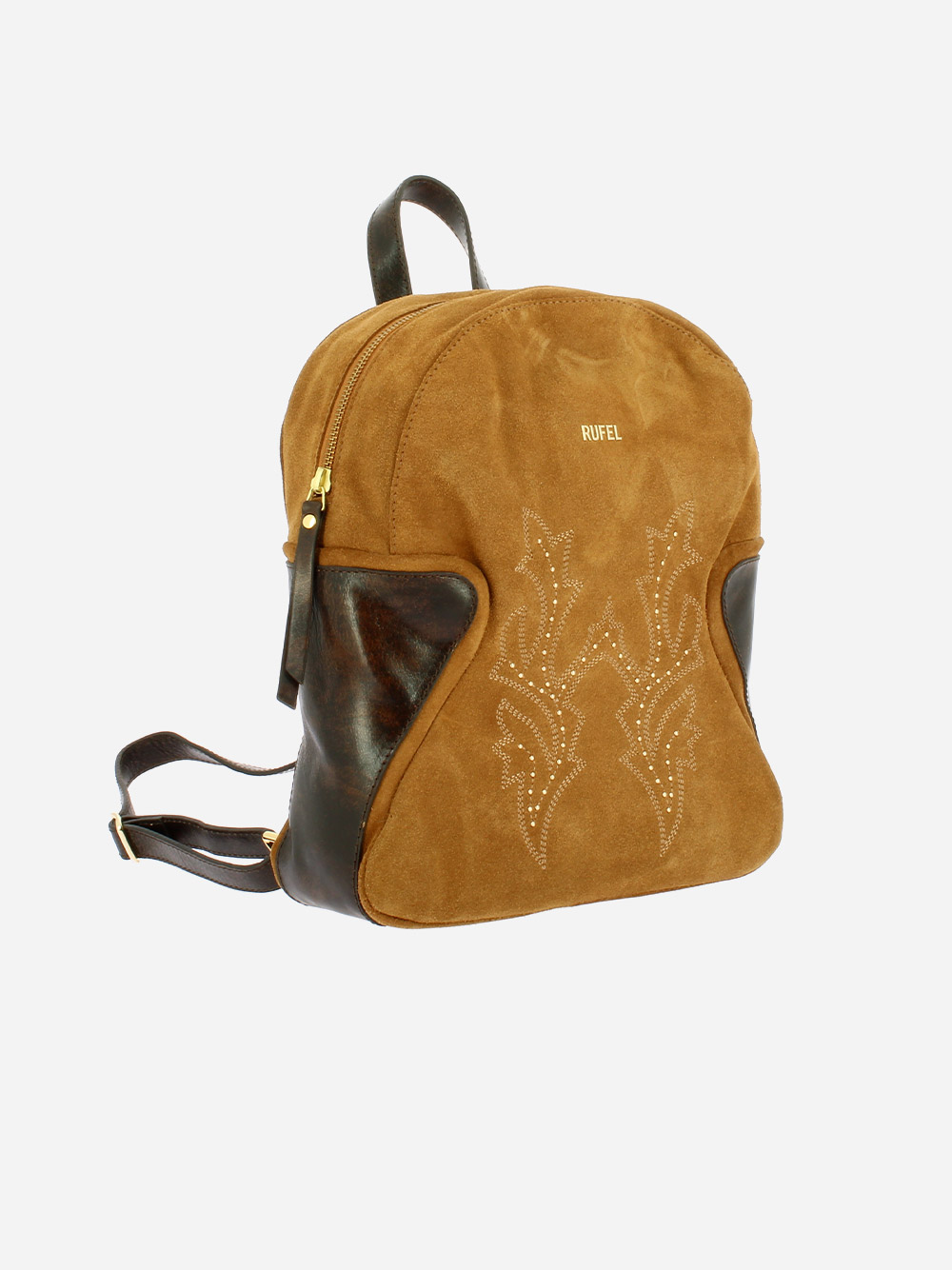 Suede & Leather Backpack