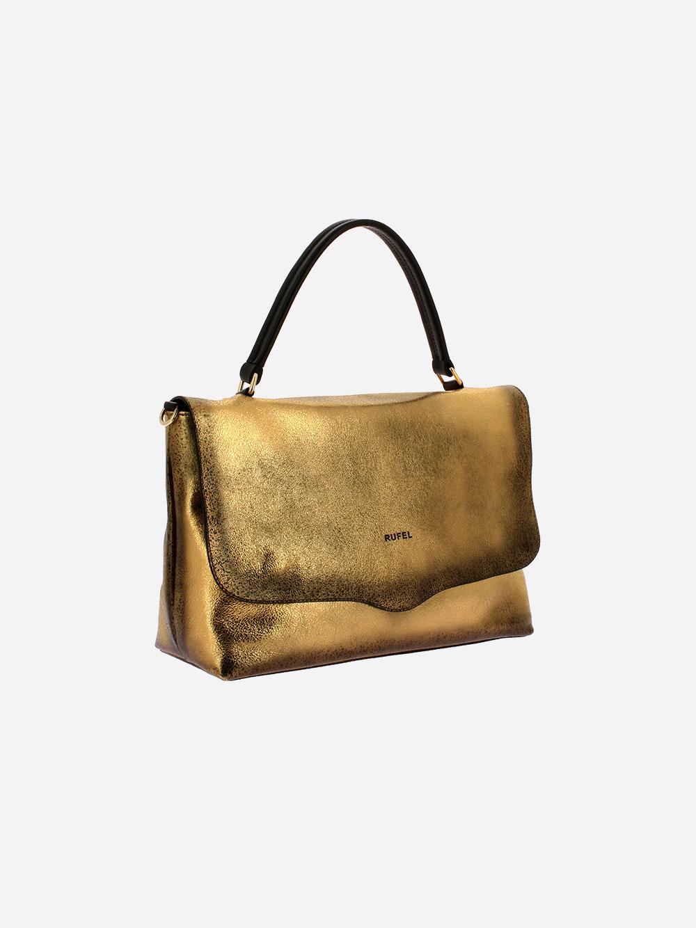 Laminated Golden Handbag
