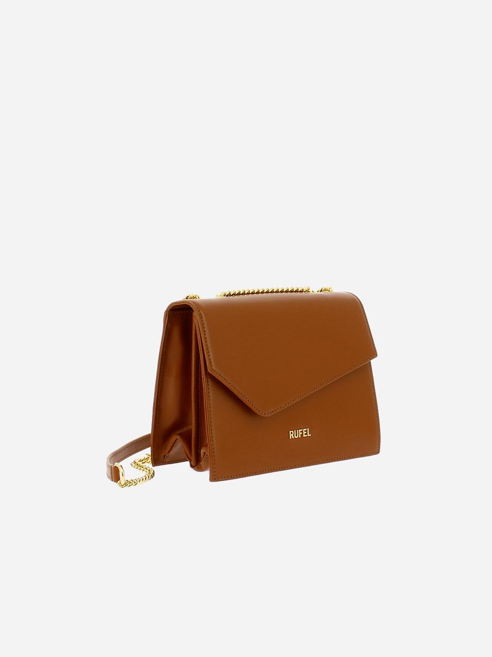 Soave Camel Crossbody Bag
