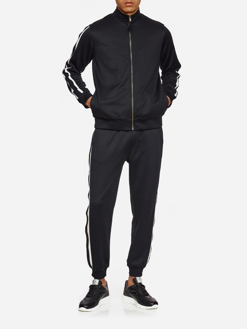 Black Track Suit Pants