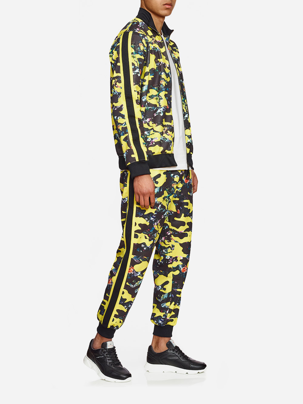 Camouflaged Track Suit Pants