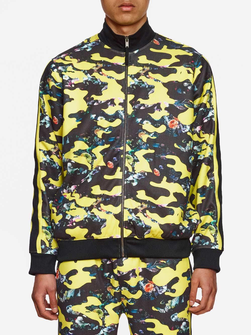 Camouflaged Track Suit Jacket