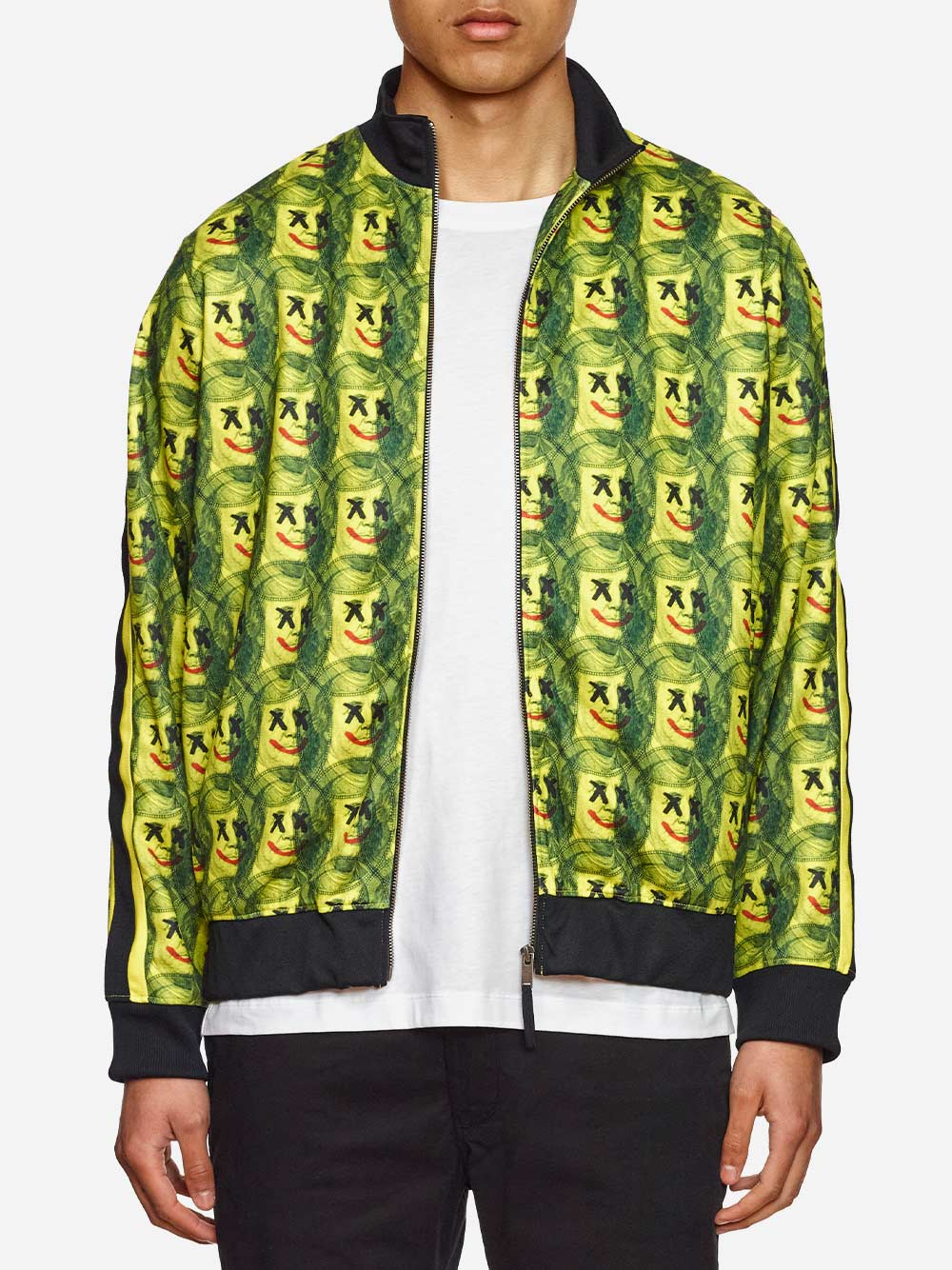 Yellow and Green Jacket