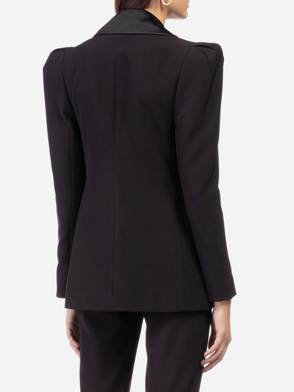 Blazer Preto Tuxedo | Elsa Barreto