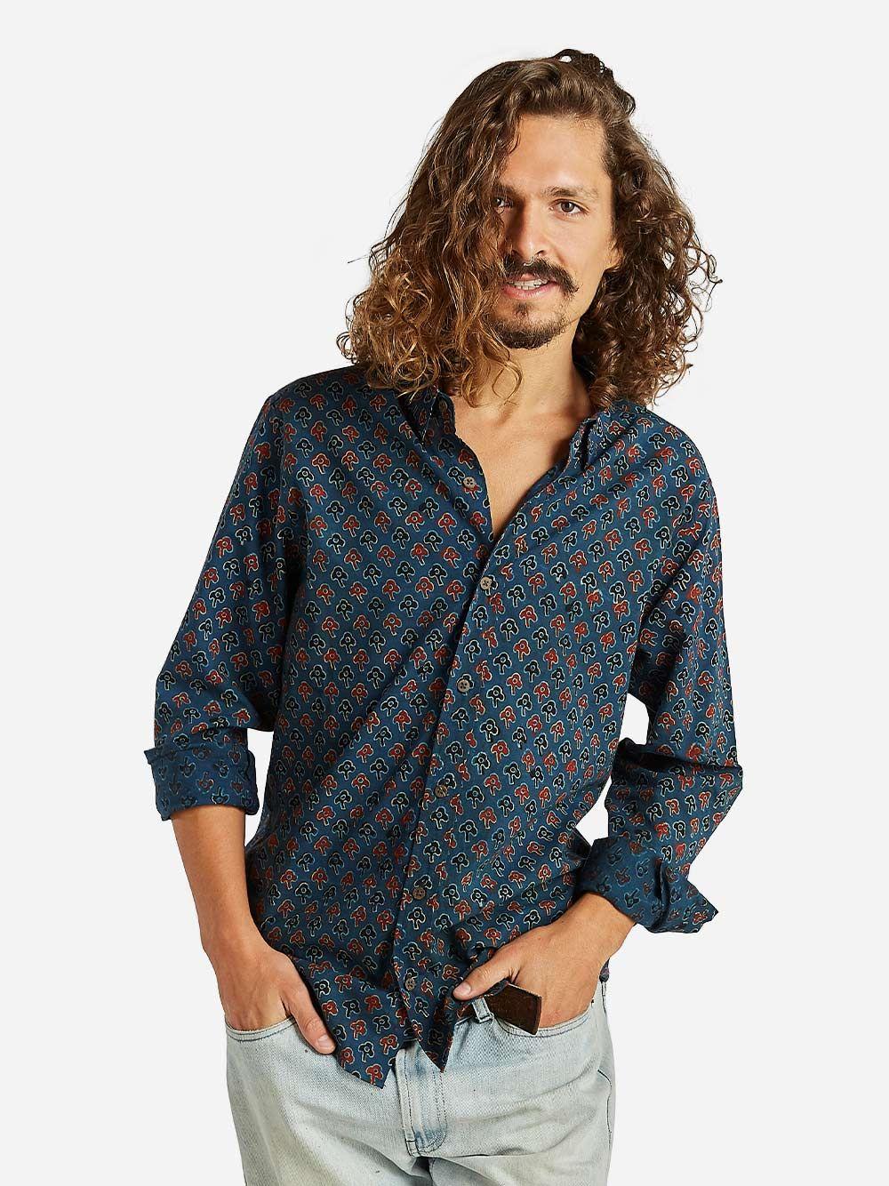 Camisa Estampada Plat   Otherwise