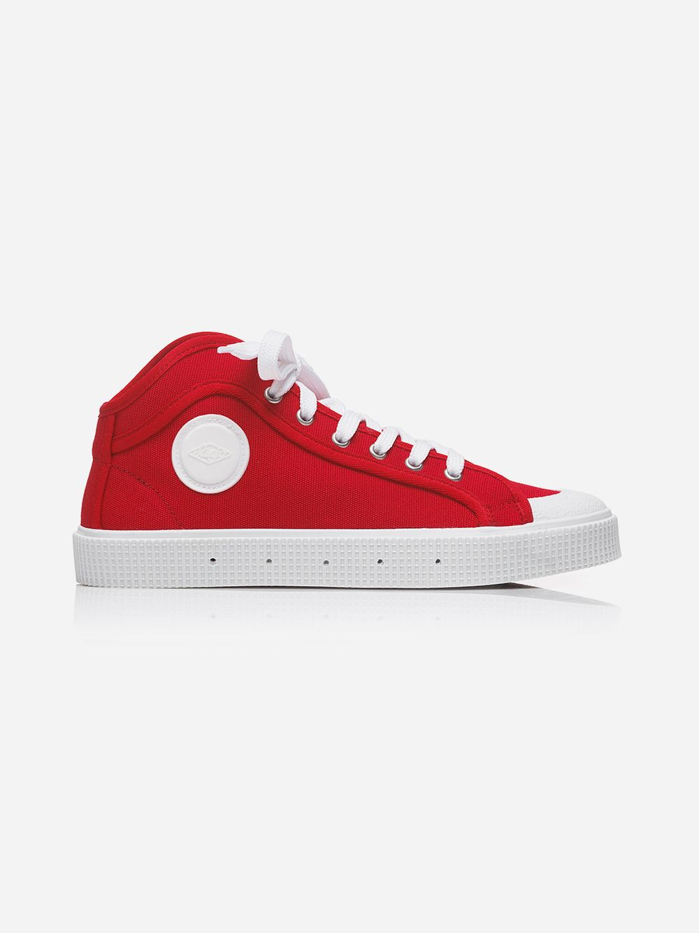 Red K100 High Top Sneakers | Sanjo