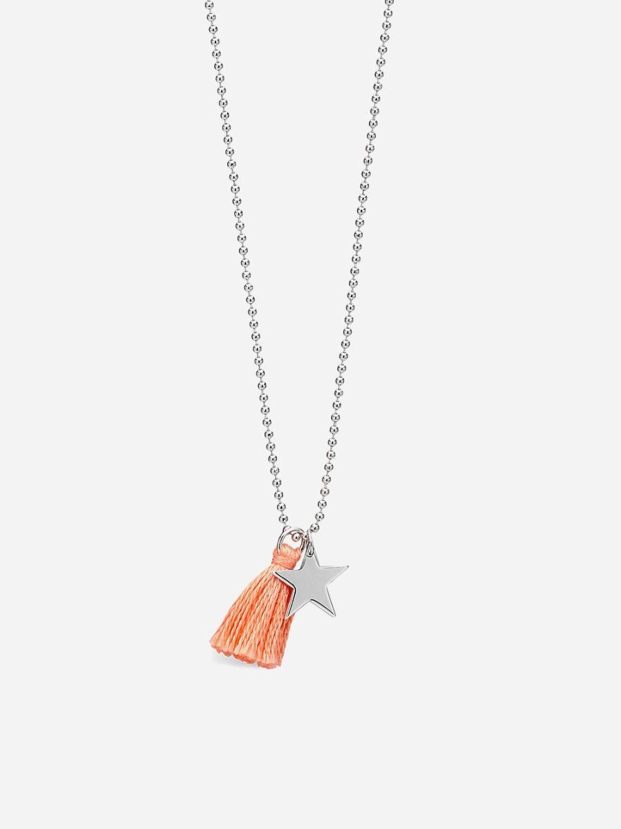 Colar Estrela Prateado | Coquine Jewelry