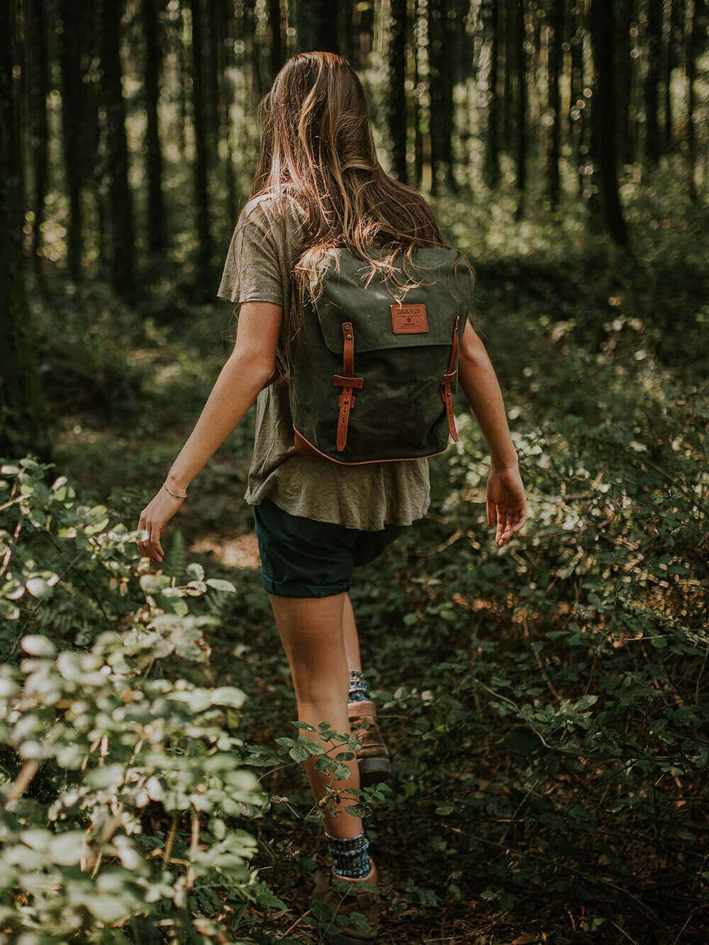 Arrimal Green Backpack | Ideal & Co