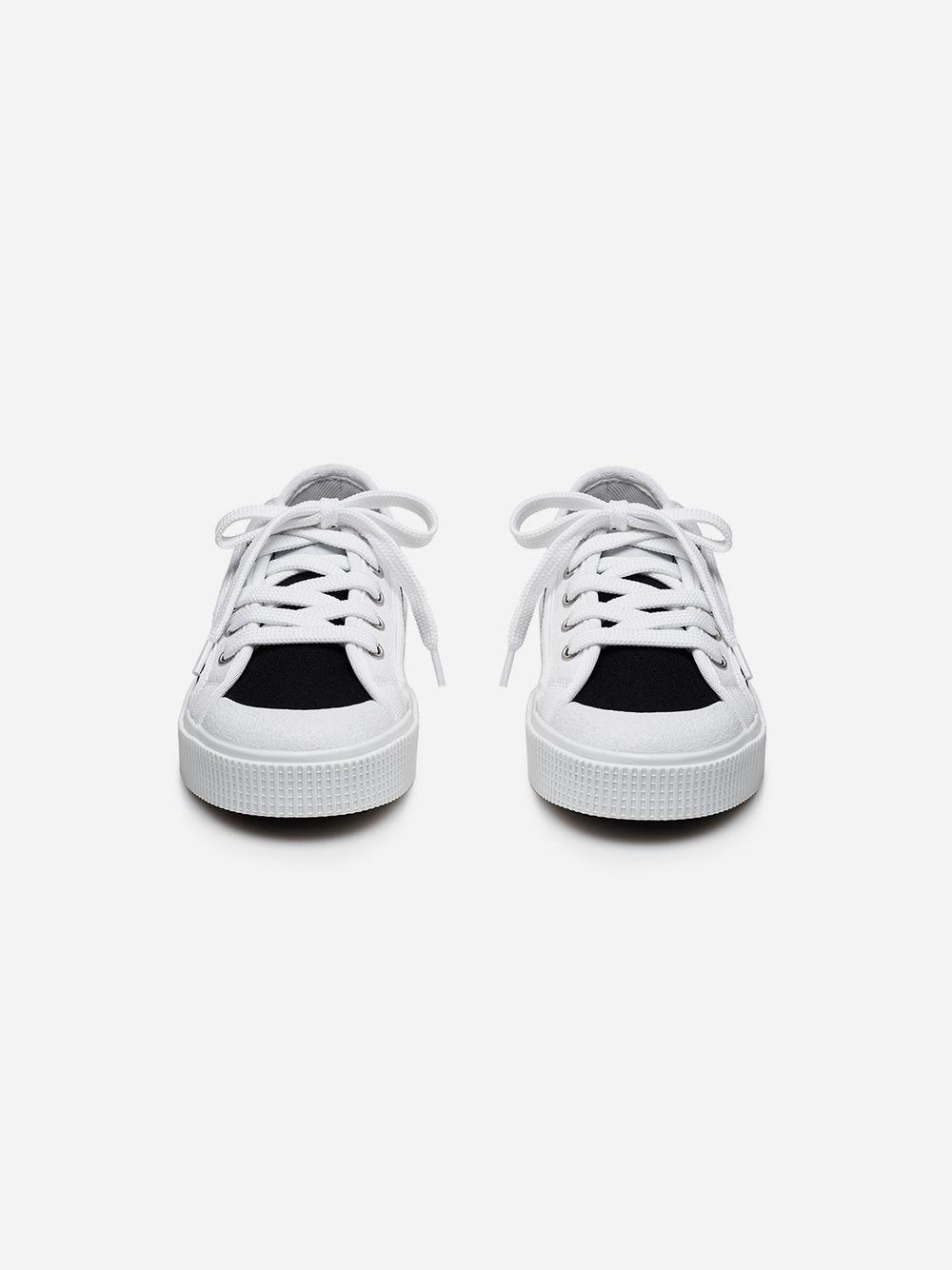 Sapatilha K200 Preto & Branco | Sanjo