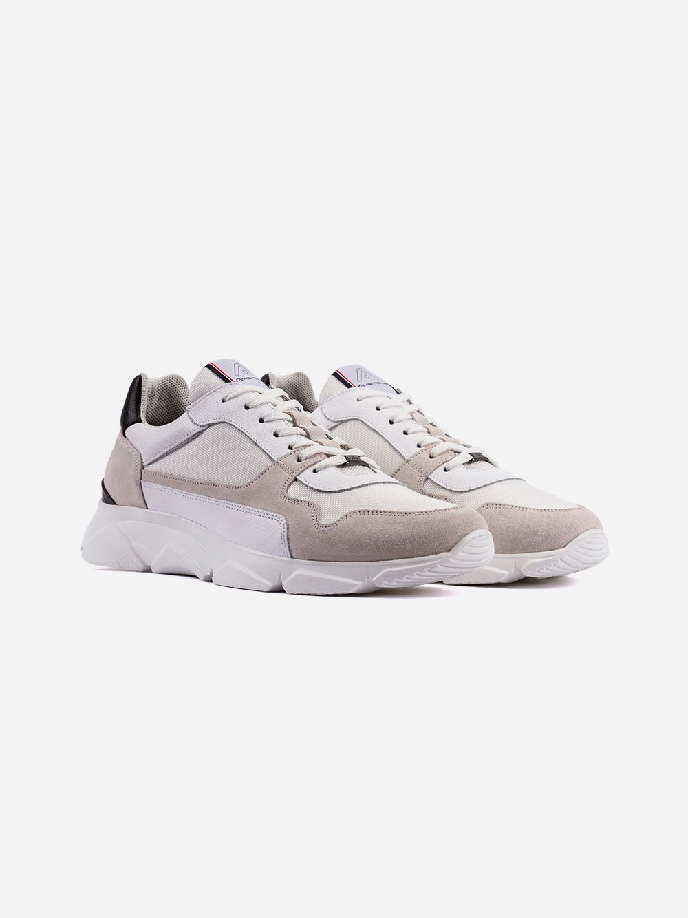 White and grey Sneakers | AMBITIOUS