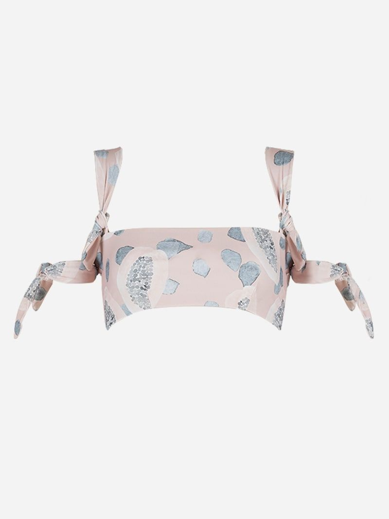 Beauvoir Aquarelle Bikini Top | Fabiana Baumann