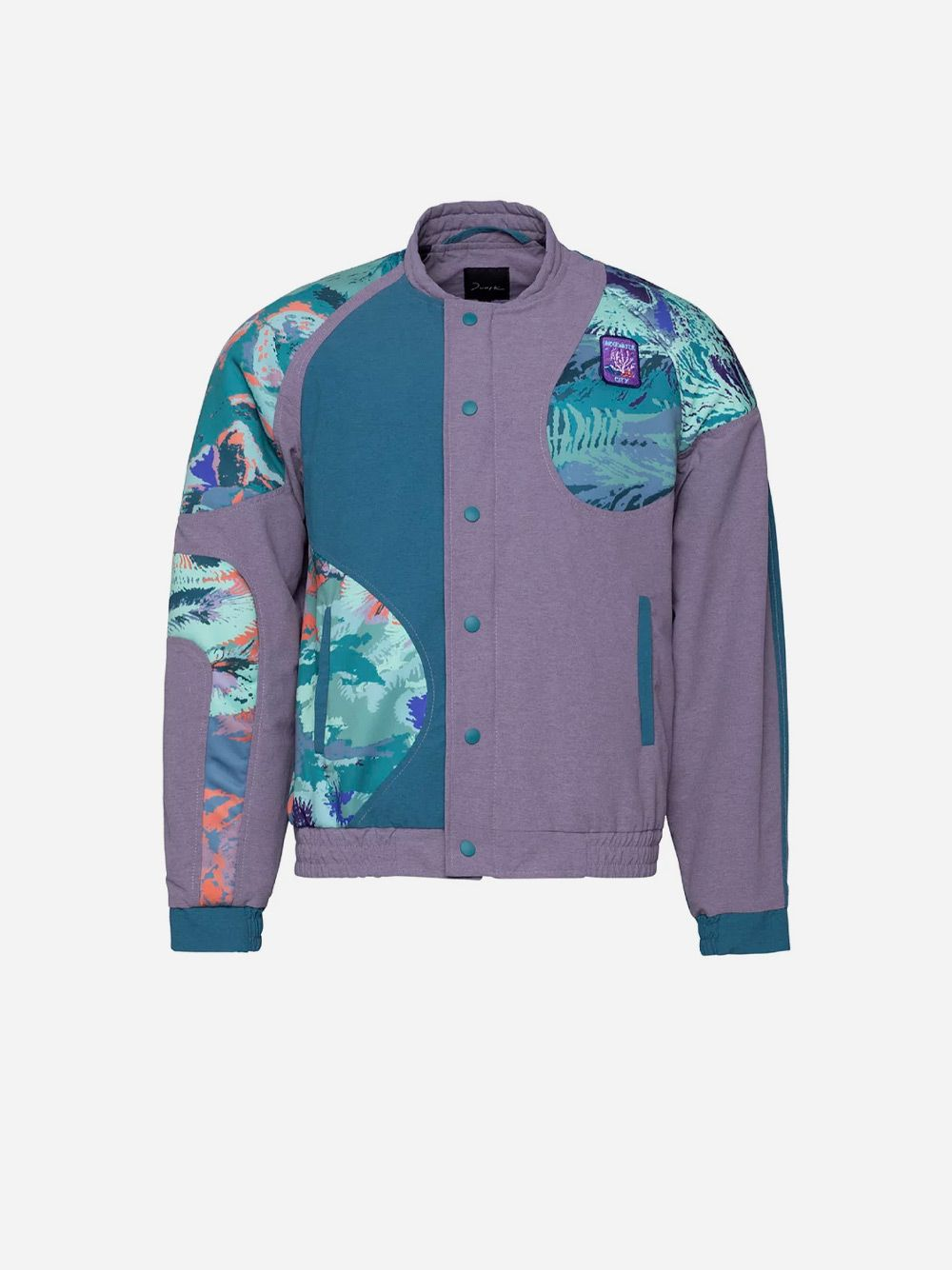 Casaco Bomber Coral Shaped