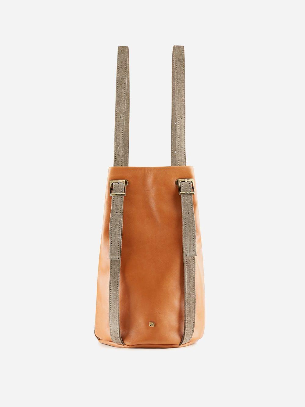 Drawstring Backpack Amber | Maria Maleta