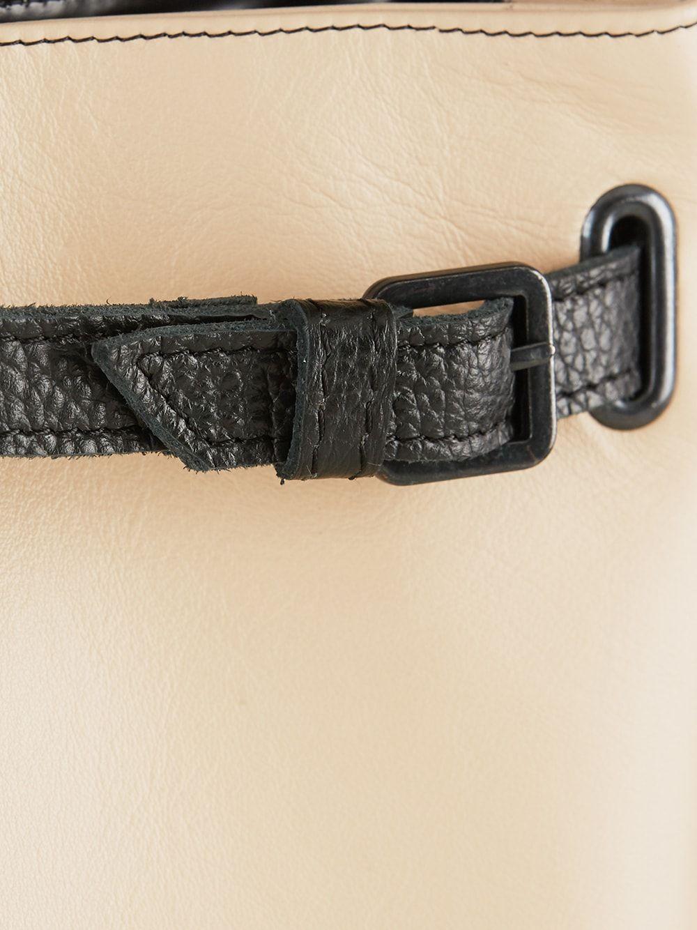 Black and Pink Belt Bag | Maria Maleta