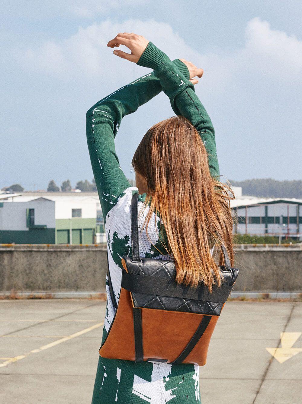 Multicolor Backpack City | Maria Maleta