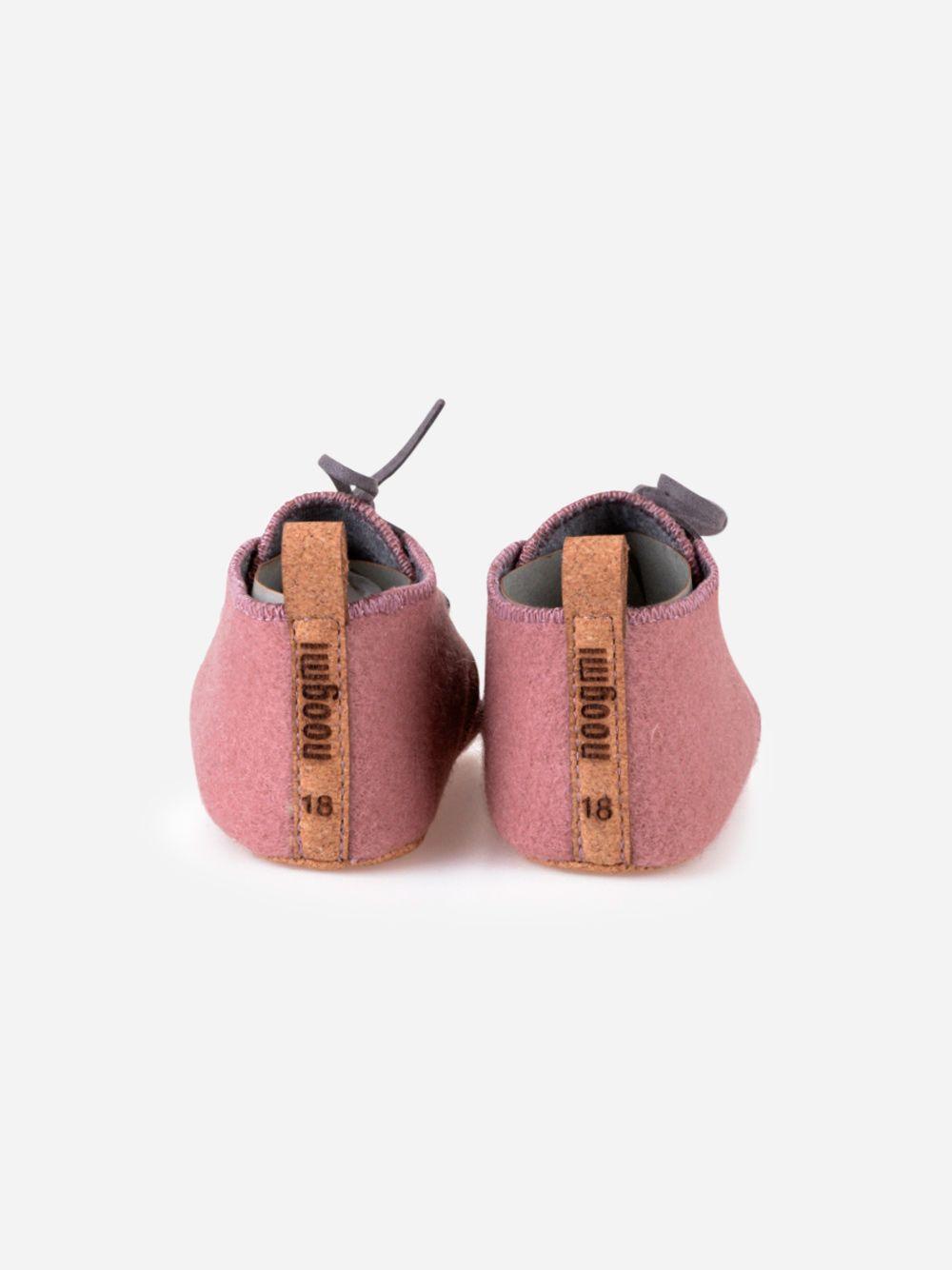 Dusk Pink Mookie Shoe   Noogmi