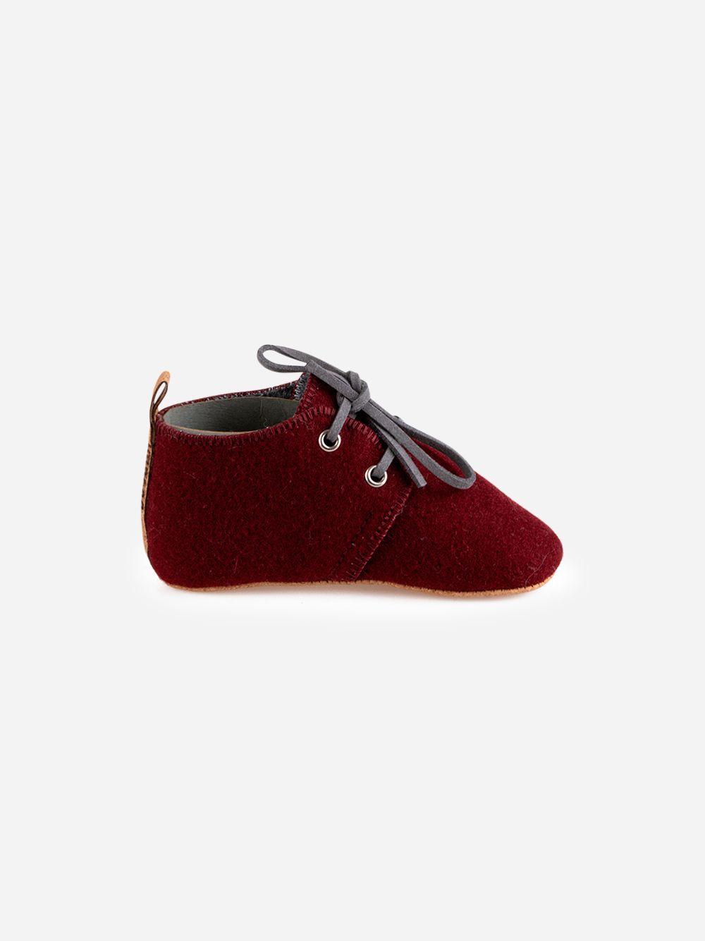 Burgundy Mookie Shoe | Noogmi