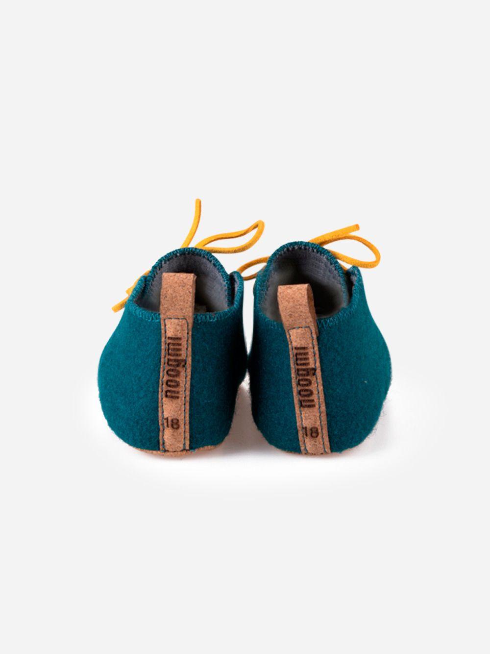 Blue Petrol Mookie Shoe | Noogmi