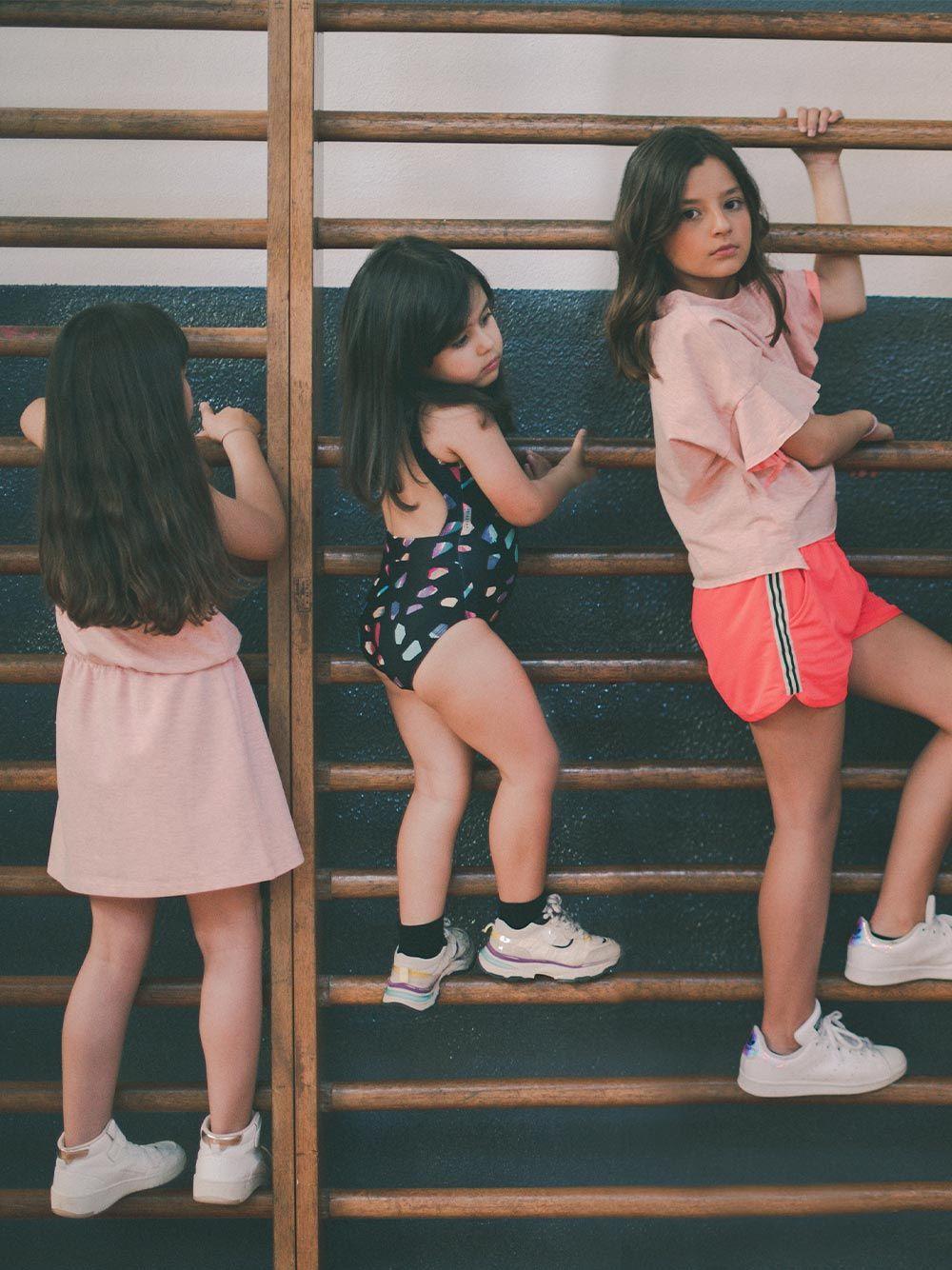Vestido Rosa sem Mangas | Andorine