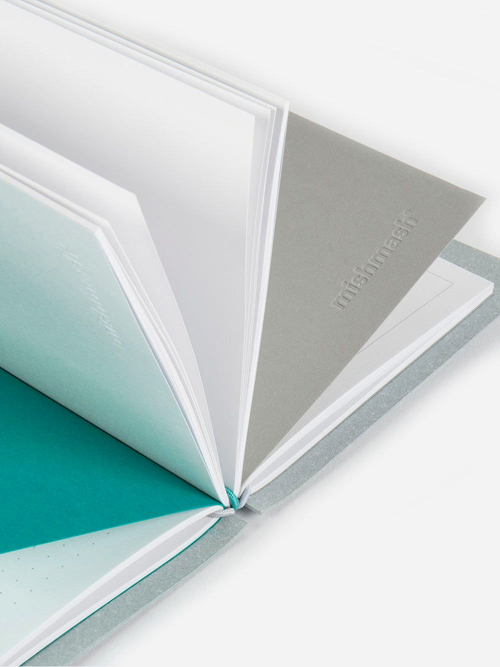 Creative Log Sky Grey Notebook | Mishmash