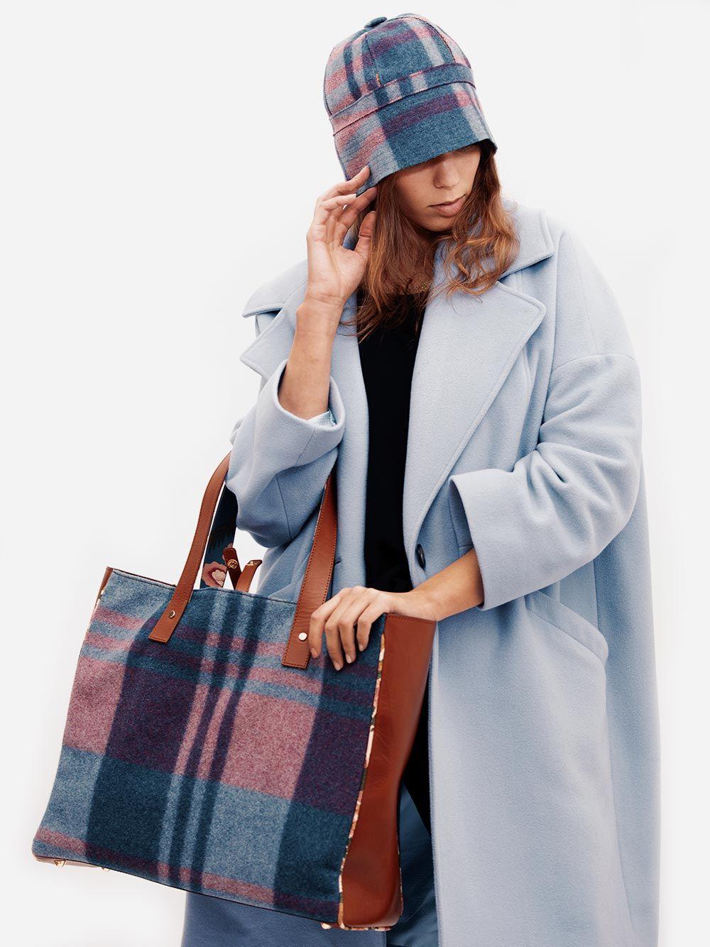 All Day Bag Azul e Rosa  Zanzibar