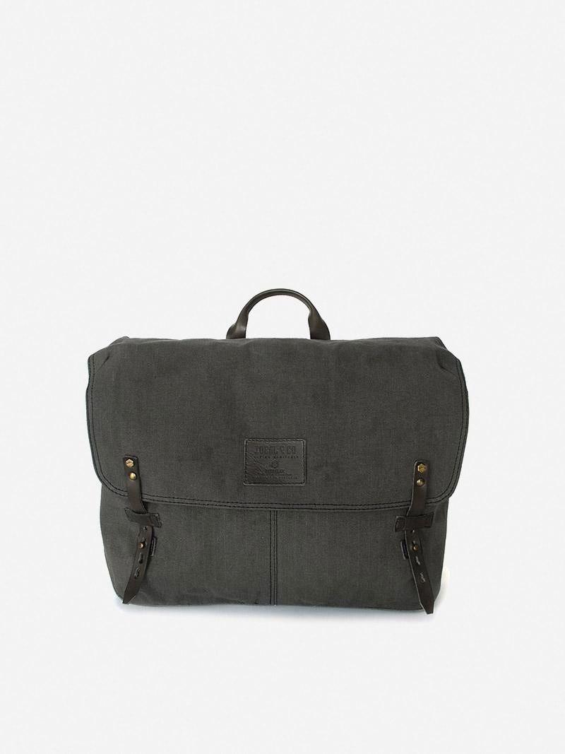 Alcaide Grey Messenger Bag   Ideal & Co